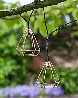 Geo Solar String Lights