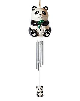 Ceramic Panda Windchime