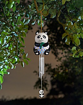 Ceramic Panda Windchime
