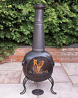 Kobie Extra Large Steel Chimenea