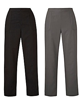 Pack of 2 Woven Joggers