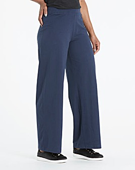 Wide Leg Loose Fit Lightweight Pant 31'