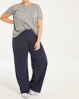 Wide Leg Loose Fit Lightweight Pant 29'
