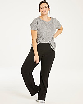 Black Value Straight Leg Joggers - 27