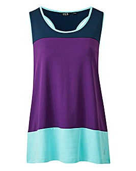 Sports Colour Block Vest