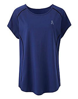 Value Navy Sports T-Shirt