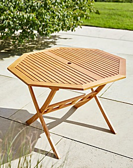 Octaganol FSC Wood Table