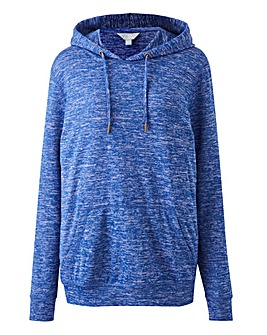 SLOUCHY KNITTED HOODIE