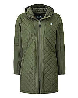 Snowdonia Quilted Longline Softshell
