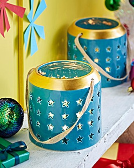 Ceramic Star Tealight Holders