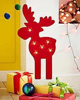 Noma Felt Lit Reindeer