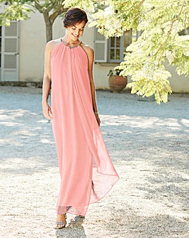 Joanna Hope Blush Swing Maxi Dress