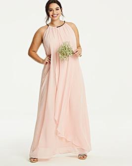 Joanna Hope Blush Swing Maxi Dress