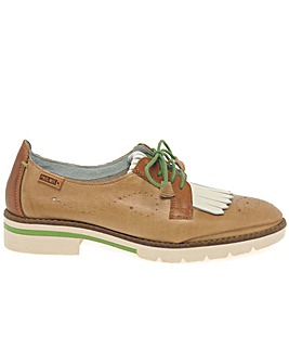 Pikolinos Sitges Womens Fringe Loafers