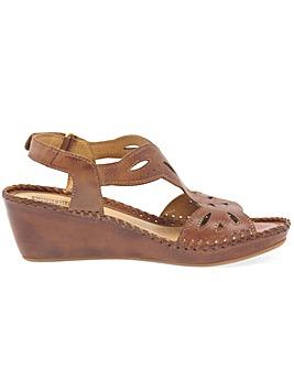 Pikolinos Magan Womens Wedge Sandals