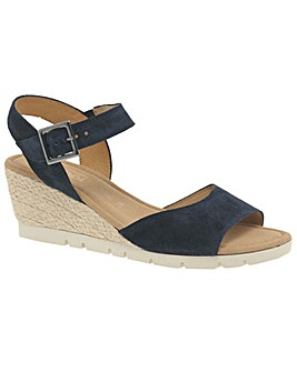 Gabor Nieve Wider Fit Wedge Heel Sandals