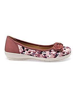 Hotter Original Jewel Ballerina Shoe