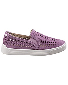 Hush Puppies Gabbie Woven Slip On Shoes