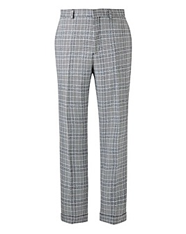 Black Check Jenson Slim Fit Trousers