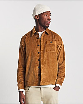 Tan Cord Overshirt