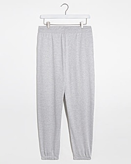 Grey Marl Oversized Jogger