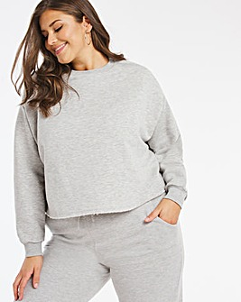 Boxy Crop Sweatshirt