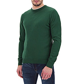 Green Crew Neck Jumper