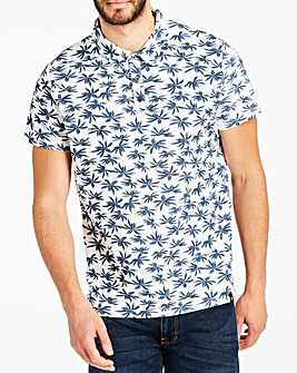 Joe Browns Palm Print Polo Regular