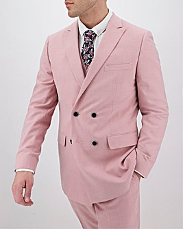 Rose Harry Double Breasted Regular Fit Suit Jacket