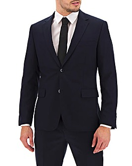 Navy Regular Fit Travel Suit Jacket