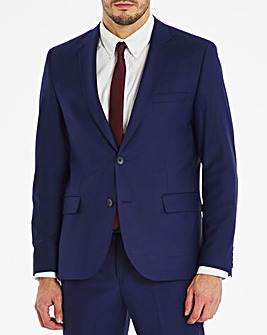 Blue Regular Fit Travel Suit Jacket