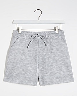Light Grey Marl Jogger Shorts