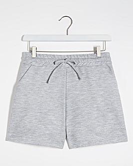 Light Grey Marl Jogger Shorts