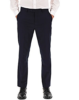 Navy Regular Fit Travel Suit Trousers