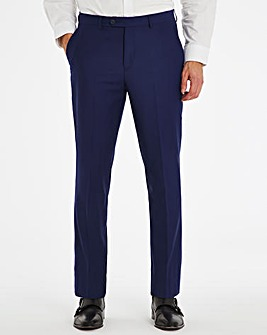 Blue Regular Travel Suit Trousers
