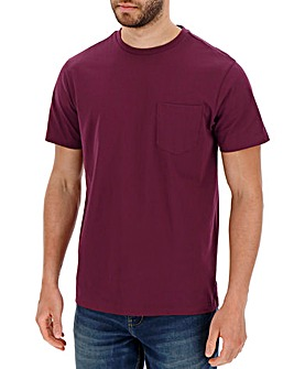 Mulberry Pocket Crew T-Shirt