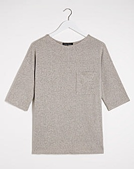 Oatmeal Soft Touch Pocket T-Shirt