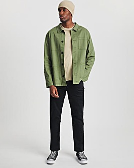 Premium Stay Black Straight Fit Jean