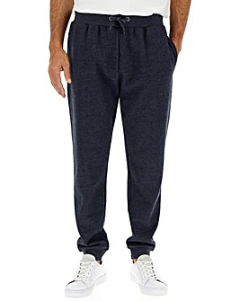 Denim Marl Cuffed Jog Pants 29in