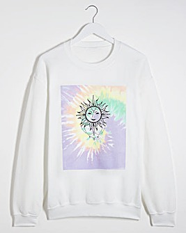 Sun Multi Tie-Dye Sweatshirt