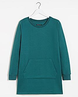 Deep Teal Marl Sweatshirt