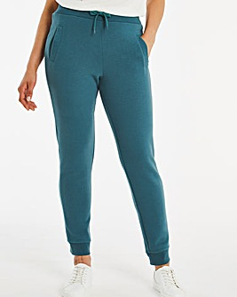 Deep Teal Slim Jogger