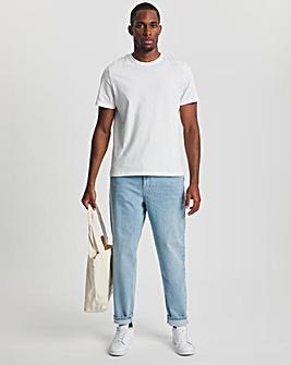 Premium Bleachwash Loose Taper Fit Jean