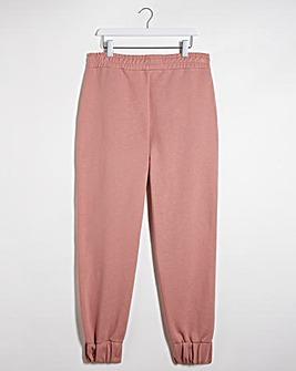 Dusky Pink Cuff Leg Jogger