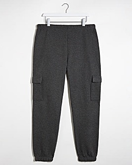 Charcoal Marl Utility Pocket Jogger