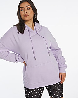 Lilac Pull on Hoodie