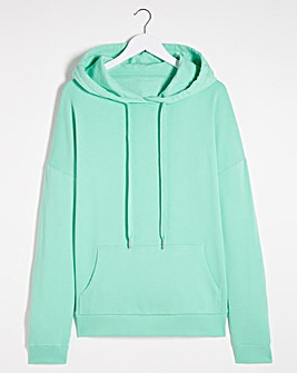 Mint Green Pull on Hoodie