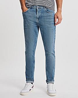 Premium Stonewash Tapered Fit Jean