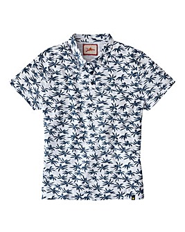 Joe Browns Palm Print Polo Long