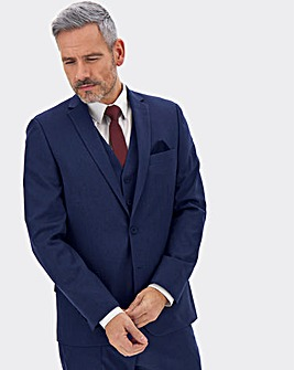 James Navy Regular Fit Value Suit Jacket